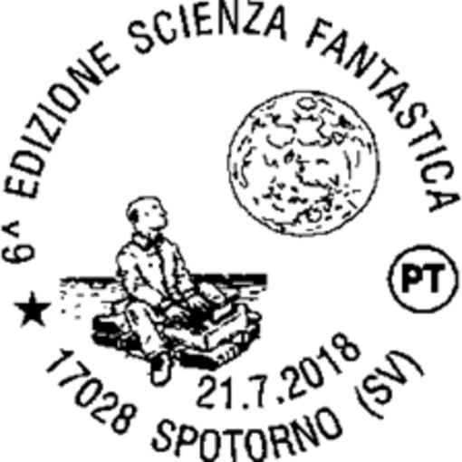 Spotorno, un annullo speciale per Scienza Fantastica 2018