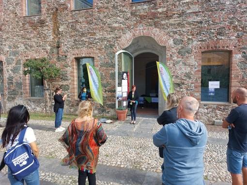 """Savona, inaugurata sul Priamar la mostra-evento WhyBio? con un'edizione speciale dal titolo """"Re-start your life"""" (FOTO)"""