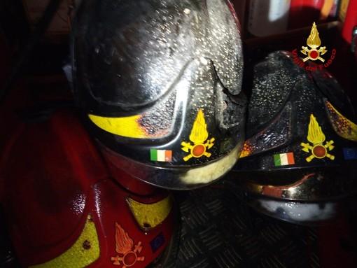 Incendio canna fumaria a Mallare: l'allarme lanciato in località Panelli