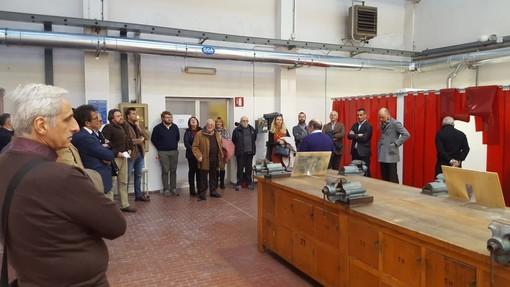 """Savona, inaugurato il nuovo laboratorio di saldatura al Ferraris-Pancaldo: """"Progetto per gli studenti e per le aziende"""" (FOTO)"""
