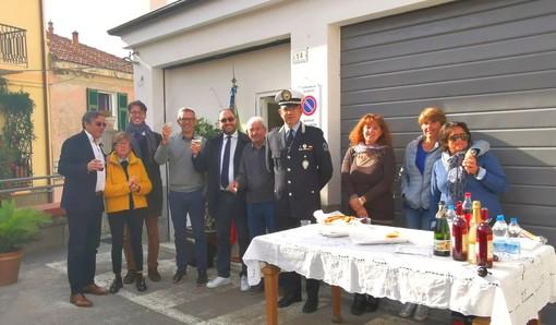 Alassio: inaugurato il nuovo ufficio della Polizia Municipale in frazione Moglio