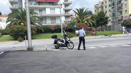 Savona, incidente in via Nizza: due feriti