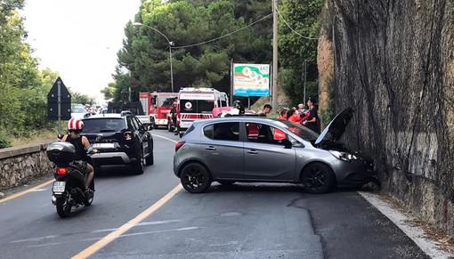 Frontale tra due autovetture sul Capo di Santo Spirito: otto feriti fortunatamente lievi