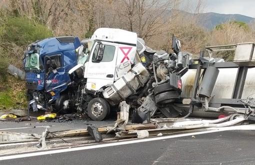 Incidente sulla A10, riaperta l'autostrada in entrambi i sensi di marcia