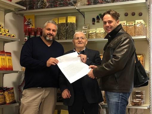 I saluti dell'onorevole Giorgio Mulè ai siciliani di Albenga per Santa Lucia