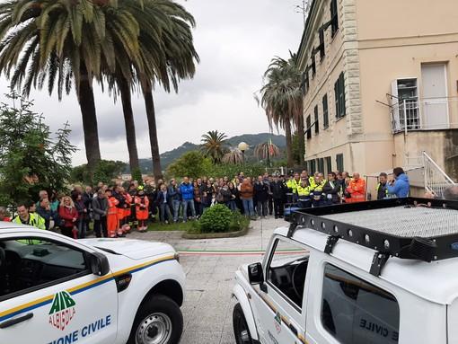 La Protezione Civile di Albisola festeggia l'inaugurazione di due nuovi mezzi