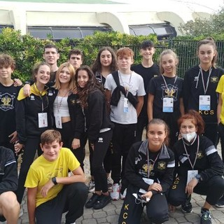 Karate Club Savona: è incetta di medaglie alle gare internazionali di preparazione