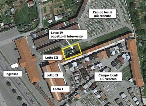 Cairo Montenotte amplia il cimitero: approvato progetto definitivo dalla giunta Lambertini