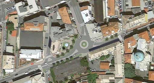 """Albisola, via al cantiere per la riqualificazione di piazza Dante e la realizzazione della rotatoria. Garbarini: """"I disagi alla viabilità saranno limitati"""""""
