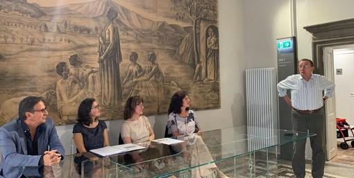 Cairo inaugura il lascito del professor Bruno Mozzone, 700 volumi di letteratura, storia e cultura russa (FOTO)