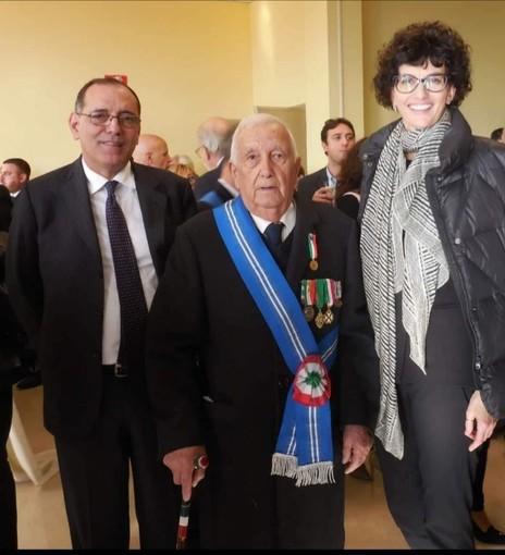 La provincia di Savona è in lutto per la scomparsa di Luigi Viglione, presidente dell'Associazione Combattenti e Reduci