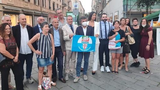 """Savona 2021, Forza Italia e Udc presentano i candidati a sostegno di Schirru. Bagnasco (Fi): """"Una lista competitiva e non completativa"""" (FOTO e VIDEO)"""