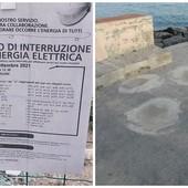 Finale fa ancora i conti coi danni del maltempo: in località Manie necessari lavori alla rete elettrica