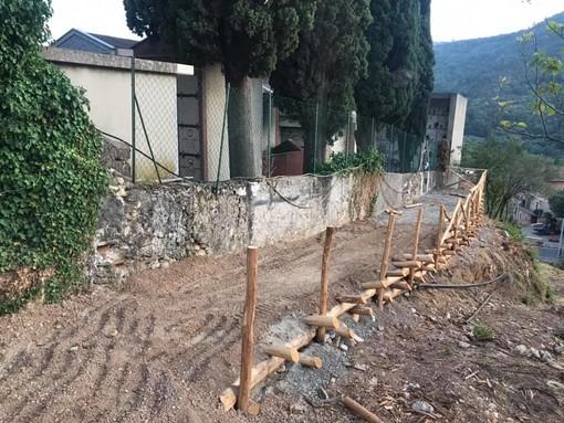 Nuovo accesso per il cimitero del capoluogo di Tovo San Giacomo
