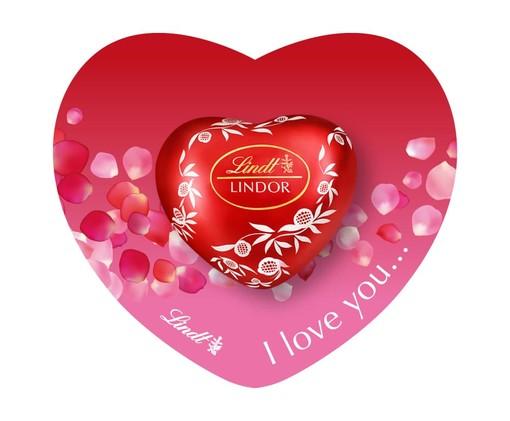 A San Valentino conquista la persona amata con il cuore Lindor