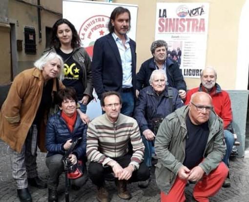 """I candidati de """"La Sinistra"""" a Pietra Ligure e Vado Ligure"""
