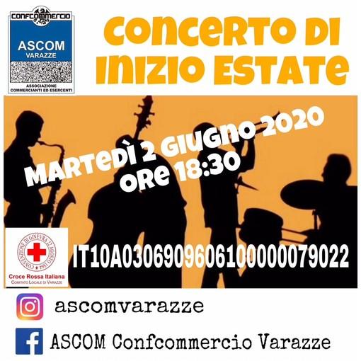 Il Covid-19 non ferma il concerto di inizio estate promosso da Ascom Confcommercio Varazze: sarà via social