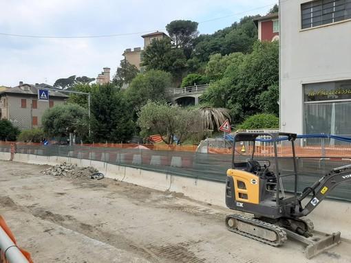 Celle, per i lavori sul Rio Santa Brigida previste 8 chiusure notturne sull'Aurelia