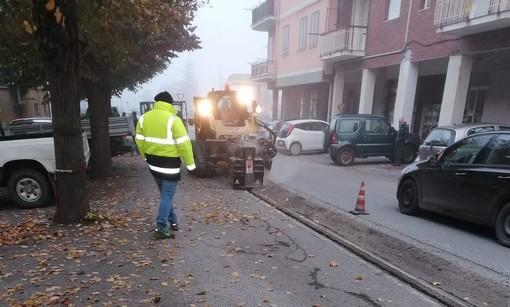 Calizzano, iniziati i lavori per la posa della fibra ottica (FOTO)