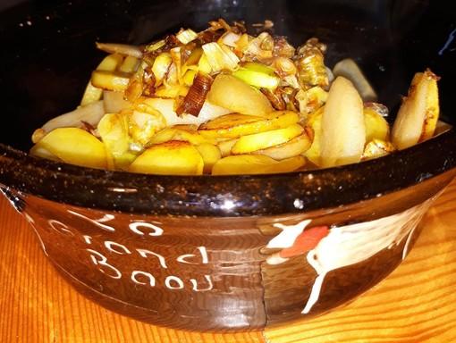 Mercoledì Veg: Madernassa con patate Certosa e porri di Montagna