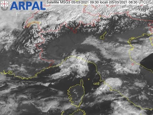 Meteo, previsto vento forte nel weekend: il bollettino diramato da Arpal
