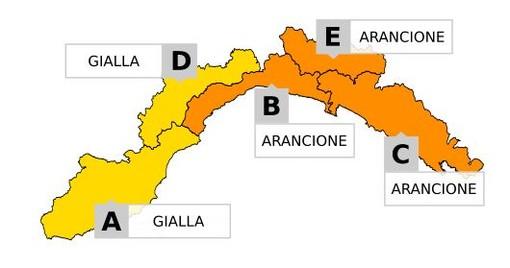 Torna il maltempo in Liguria: allerta gialla e arancione per temporali