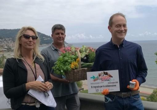 """È arrivata ad Andora la maratona """"La Liguria ricomincia. Di corsa"""""""
