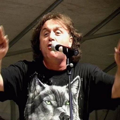 Il cabarettista Norberto Midani, ospite della cerimonia di apertura