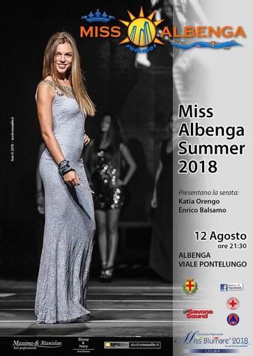 """Alcuni momenti di una delle passate edizioni di """"Miss Albenga Summer"""""""