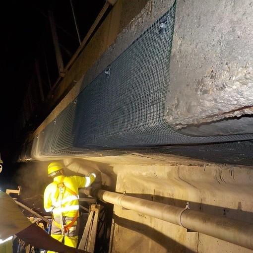 Autostrade per l'Italia: operative le nuove squadre per la manutenzione di superficie delle principali opere della rete ligure