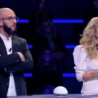 """Il barman finalese Marcello Pelucchi al quiz di Enrico Papi """"Guess my age"""""""