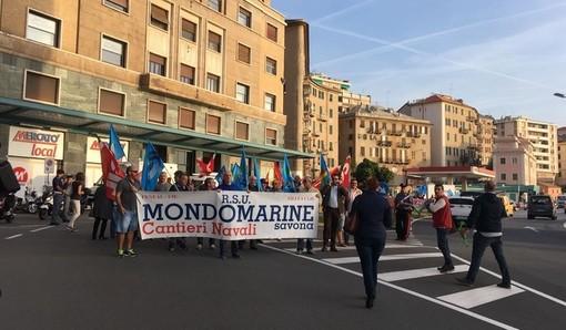 """Ex cantieri Mondomarine a Savona, si attende ancora la convocazione del Comitato Portuale. I sindacati: """"Situazione incredibile"""""""