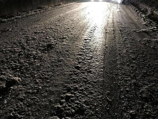 Urbe, chiusa per neve la Sp 73 del Faiallo