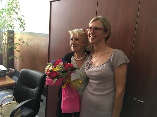 Dopo circa 23 anni di servizio la dott.ssa Eliana Mattiauda lascia il Comune di Savona (FOTO e VIDEO)