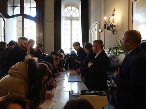 """A Genova ultima giornata di casting per """"Mondi Paralleli"""", a Villa Bombrini ascoltati altri 120 candidati"""