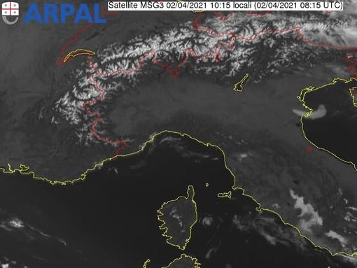 Meteo, cielo sereno sulla Liguria. Venti deboli e mare poco mosso