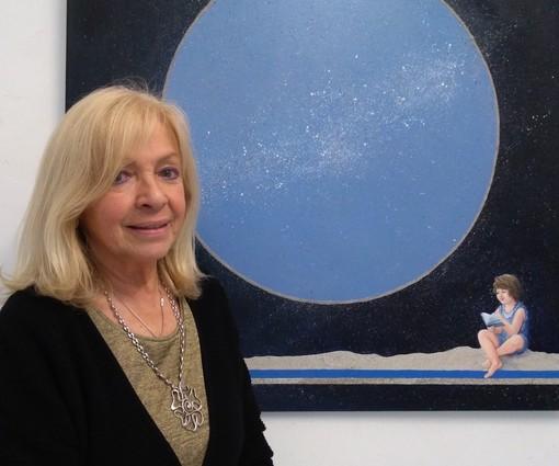 """Carcare, inaugurata la mostra di Ingrid Mijich """"Un viaggio tra segni e pensieri"""" (FOTO)"""