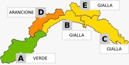 Torna il maltempo in Liguria: neve nell'entroterra e pioggia sulla costa
