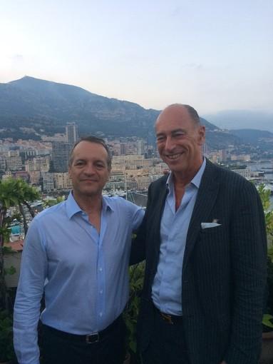Alassio, il sindaco Melgrati incontra il collega del Principato di Monaco George Marsan