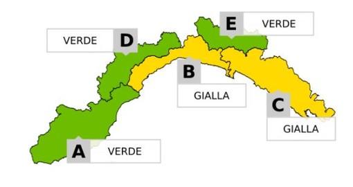 Maltempo, da Noli a Portofino allerta gialla per temporali forti: le previsioni di Arpal