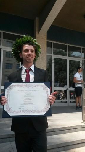 Laurea in Ingegneria per il giovane consigliere di Roccavignale Matteo Ferraro: da domani per lui la delega all'edilizia