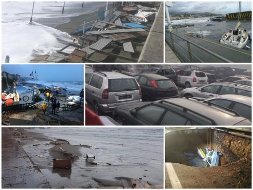 Quando il maltempo spaventò la Liguria: il 29 e 30 ottobre del 2018 la mareggiata che mise in ginocchio le nostre coste
