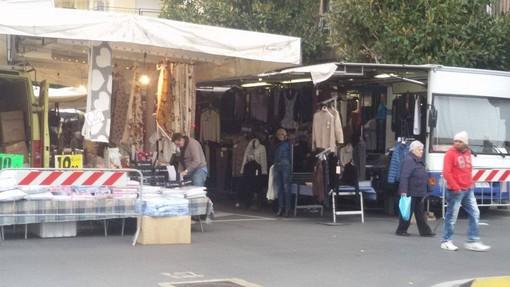 Da gennaio il mercato di Albenga sarà trasferito sul Lungo Centa