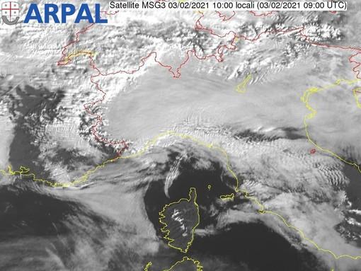 Meteo, nuvolosità diffusa in tutta la Regione: previsioni prossimi giorni