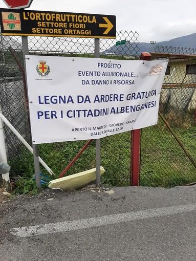 Albenga, il 2 febbraio varia l'orario del centro raccolta legname