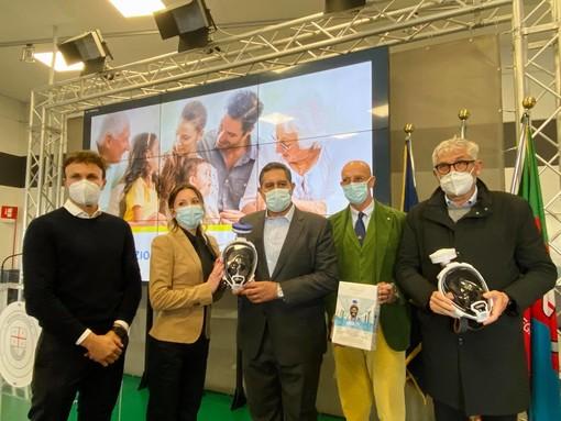 Associazione Babboleo Onlus dona mascherine al personale sanitario (FOTO)