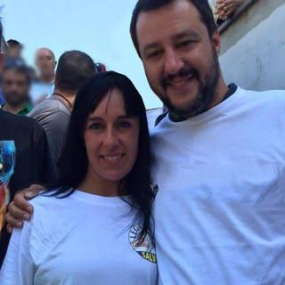 Maria Maione e Matteo Salvini