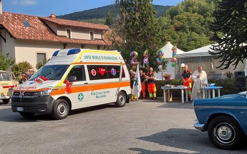 Murialdo, la Croce Verde rinnova il parco mezzi: inaugurata una nuova ambulanza 4x4 (FOTO)