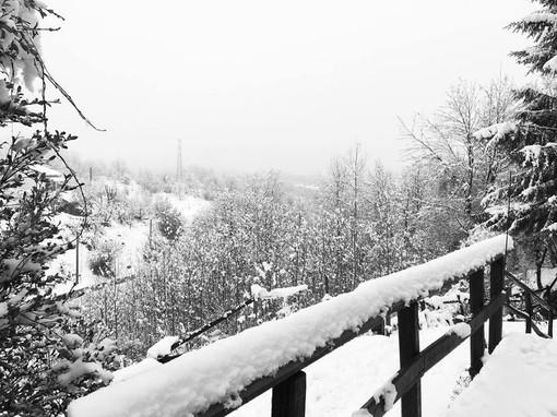 Maltempo, allerta arancione in Val Bormida: in rialzo la quota neve