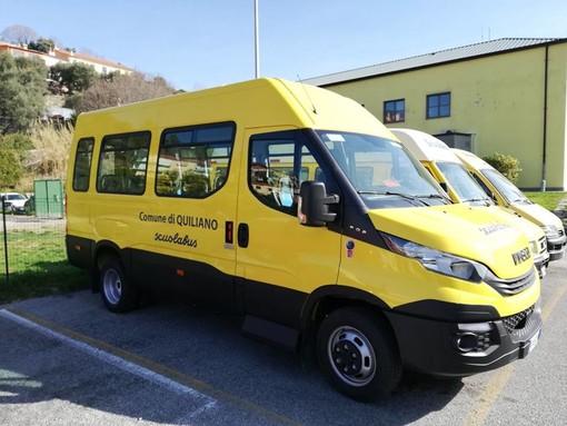 Due nuovi scuolabus per i bambini di Quiliano (FOTO)